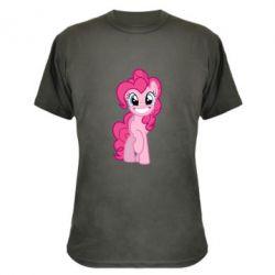 Камуфляжная футболка Pinkie Pie smile