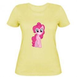 Жіноча футболка Pinkie Pie smile - FatLine