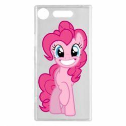 Чохол для Sony Xperia XZ1 Pinkie Pie smile - FatLine