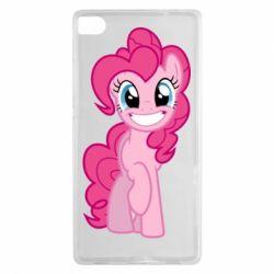Чохол для Huawei P8 Pinkie Pie smile - FatLine