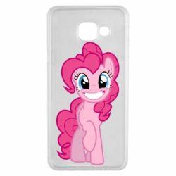 Чохол для Samsung A3 2016 Pinkie Pie smile - FatLine
