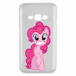 Чохол для Samsung J1 2016 Pinkie Pie smile - FatLine