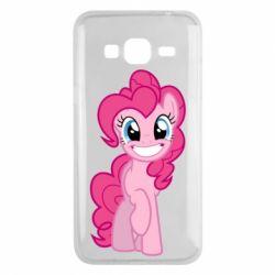 Чохол для Samsung J3 2016 Pinkie Pie smile - FatLine