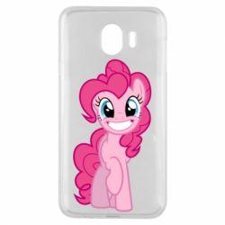 Чохол для Samsung J4 Pinkie Pie smile - FatLine