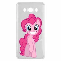 Чохол для Samsung J7 2016 Pinkie Pie smile - FatLine