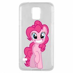 Чохол для Samsung S5 Pinkie Pie smile - FatLine