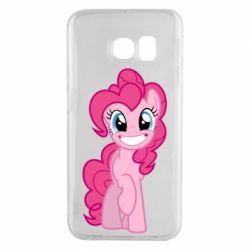 Чохол для Samsung S6 EDGE Pinkie Pie smile - FatLine