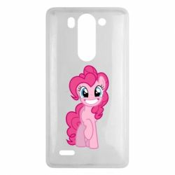 Чохол для LG G3 Mini/G3s Pinkie Pie smile - FatLine