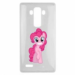 Чохол для LG G4 Pinkie Pie smile - FatLine