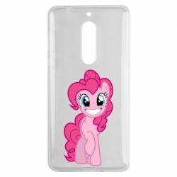 Чохол для Nokia 5 Pinkie Pie smile - FatLine