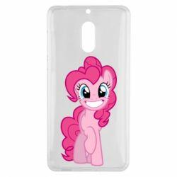 Чохол для Nokia 6 Pinkie Pie smile - FatLine