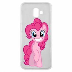Чохол для Samsung J6 Plus 2018 Pinkie Pie smile - FatLine