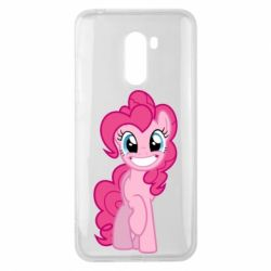 Чохол для Xiaomi Pocophone F1 Pinkie Pie smile - FatLine
