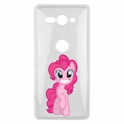 Чохол для Sony Xperia XZ2 Compact Pinkie Pie smile - FatLine