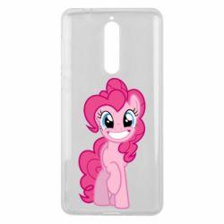 Чохол для Nokia 8 Pinkie Pie smile - FatLine