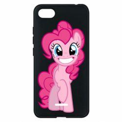 Чохол для Xiaomi Redmi 6A Pinkie Pie smile - FatLine
