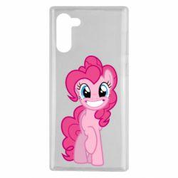Чехол для Samsung Note 10 Pinkie Pie smile