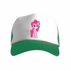 Детская кепка-тракер Pinkie Pie smile