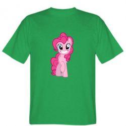 Мужская футболка Pinkie Pie smile - FatLine