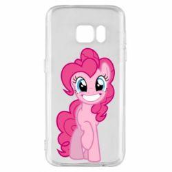 Чохол для Samsung S7 Pinkie Pie smile - FatLine