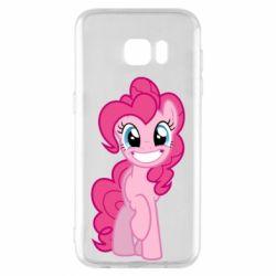 Чохол для Samsung S7 EDGE Pinkie Pie smile - FatLine