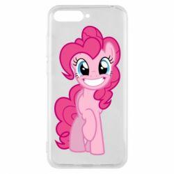 Чохол для Huawei Y6 2018 Pinkie Pie smile - FatLine