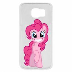 Чохол для Samsung S6 Pinkie Pie smile - FatLine