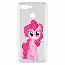 Чохол для Xiaomi Redmi 6 Pinkie Pie smile - FatLine