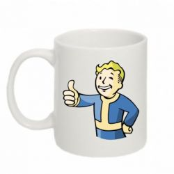 Кружка 320ml Pip boy fallout