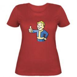 Женская футболка Pip boy fallout