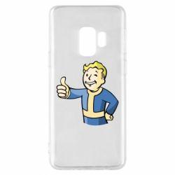 Чехол для Samsung S9 Pip boy fallout
