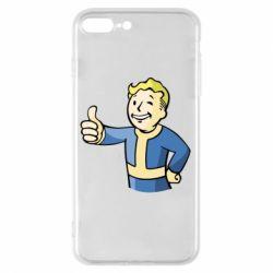 Чехол для iPhone 8 Plus Pip boy fallout