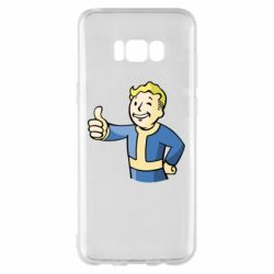 Чехол для Samsung S8+ Pip boy fallout