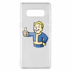 Чехол для Samsung Note 8 Pip boy fallout