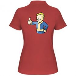Женская футболка поло Pip boy fallout - FatLine