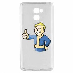 Чехол для Xiaomi Redmi 4 Pip boy fallout