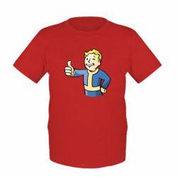 Детская футболка Pip boy fallout
