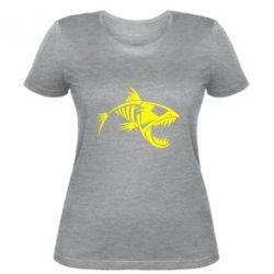 Женская футболка Piranha