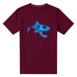 Мужская стрейчевая футболка Piranha