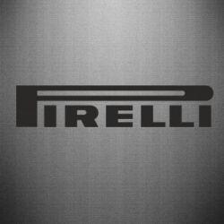 Наклейка Pirelli - FatLine