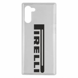 Чехол для Samsung Note 10 Pirelli