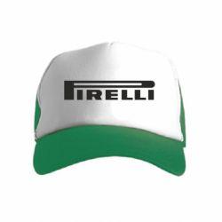 Детская кепка-тракер Pirelli