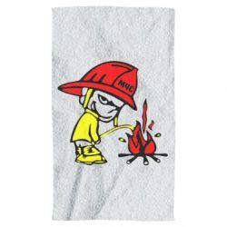 Полотенце Писающий хулиган-пожарный