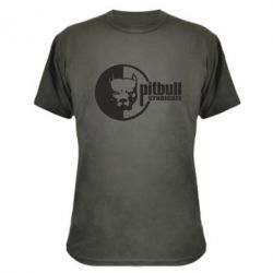 Камуфляжная футболка Питбуль Синдикат - FatLine