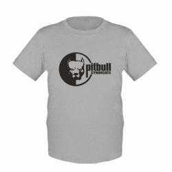 Детская футболка Питбуль Синдикат - FatLine