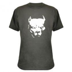Камуфляжная футболка Питбуль - FatLine