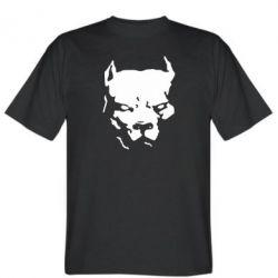Мужская футболка Питбуль - FatLine