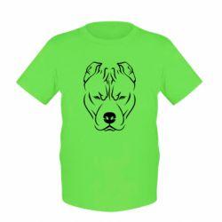 Детская футболка Питбуль