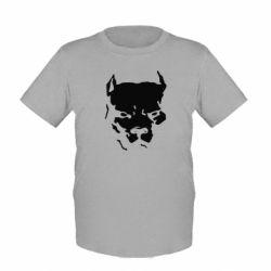 Детская футболка Питбуль - FatLine