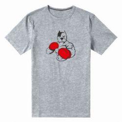 Мужская стрейчевая футболка Pitbull Boxing Logo